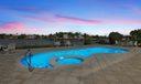 Pool & Jacuzzi - Night