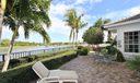 Spacious patios w/golf course views