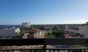 Facing South on balcony
