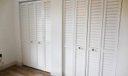 Louvered closet doors