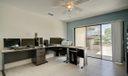 Office/ Dining Area