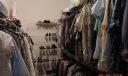 huge master walk in closet