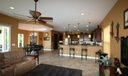 Family Room, Kitchen and Dining Area