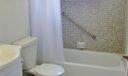 Master bathroom in private suite