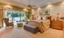 Master Bedroom with Pool/Lake View