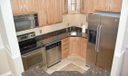 Kitchen has Ceramic Tile Flooring