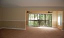 Den with out tenant furnishings