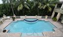View of Pool From Upper Porch