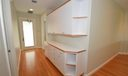 Builtins in Hallway to Bedrooms