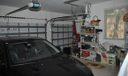 Garage with golf cart storage