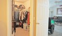 MLS Main BR Walkin closet