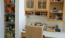 Desk and Pantry