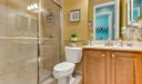 Full Bath on 1st Floor