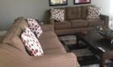 TV Seating Area at Clubhouse
