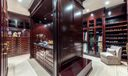 Couture Closet with sitting area