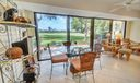Glassed Porch Enlarges Living Space