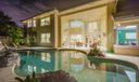 35_night-pool_1 Sheldrake Lane_Marlwood
