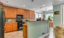 Open upgraded kitchen
