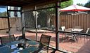 Screened patio and Courtyard