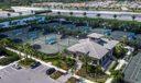 Aerial of Tennis Center