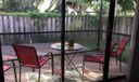 patio from kitchen