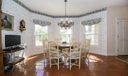 DINING ROOM WITH INTRACOASTAL VIEW