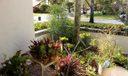 Entranceway garden
