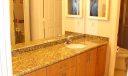 Dressing area (granite countertops)