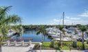Quiet yacht views