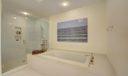 6' tub & Large shower