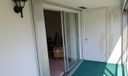 Balcony with storeroom