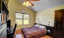 Master bedroom overlooks the golf course
