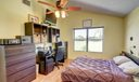 Master features vaulted ceiling