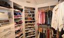 Huge master closet w/ custom built-ins