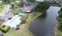 Pool overlooks the lake