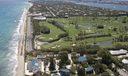 Palm Beach from the air