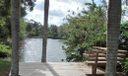 Deck at Neighboring Lake