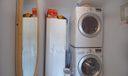Master closet with Laundry Equipment