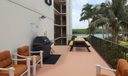 Ocean Villas BBQ terrace