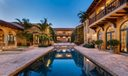 Pool & Courtyard: Evening
