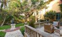Loggia & west lawn/garden