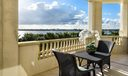 3000 S Ocean 402 balcony