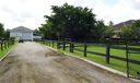 bucking paddocks and barn road