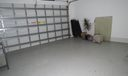 Garage with Freshly Epoxied floor