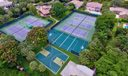 Aerial View of Multi-Purpose Courts