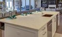 Limestone Kitchen Island