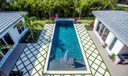 Limestone Pool Patio