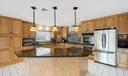 Spacious Island Kitchen