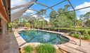 Pool Patio with View to Golf Course