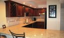 Newly remodeled kitchen granite counters